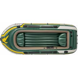 Intex Schlauchboot Seahawk 4, (Set, -, mit 2 Paddeln und Luftpumpe)