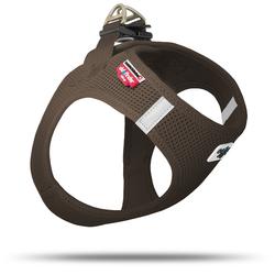 Curli Vest Geschirr Air-Mesh braun, Größe: XS