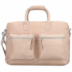 Cowboysbag Handtasche Leder 41 cm sand