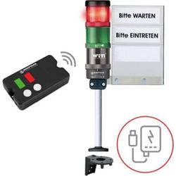 Werma Signaltechnik Zutrittskontrolle SignalSET Funk 64919102 Zugangskontrolle, fernbedienbar 1 Set
