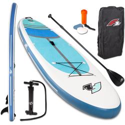 F2 Inflatable SUP-Board Cross, (Set, 5 tlg)