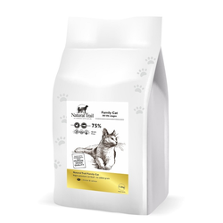 NATURAL TRAIL FAMILY CAT 75% Huhn & Lachs Katzenfutter getreidefrei (2 x 7,5 kg)