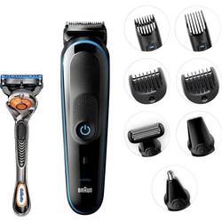 Braun MGK5080 Bartschneider, Haarschneider, Körperhaartrimmer, Rasierer, Ohr-, Nasenhaartrimmer abw