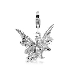 Nenalina Charm-Einhänger Elfe Märchen Fabel Anhänger 925 Silber
