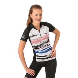 Trigema Radtrikot COOLMAX weiß Damen Sport Shirts Sportbekleidung Trikot