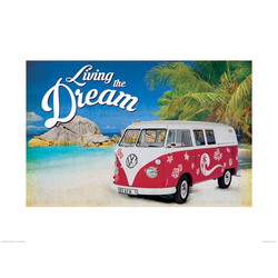 Bild VW LIVING THE DREAM(BH 80x60 cm) LIVIN