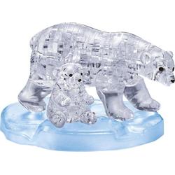 Crystal Puzzle - Eisbärenpaar