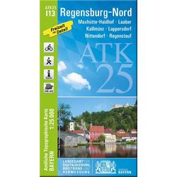Regensburg Nord 1 : 25 000