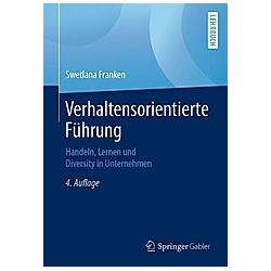 Verhaltensorientierte Führung. Swetlana Franken  - Buch