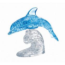 großes Crystal Puzzle - Delfin