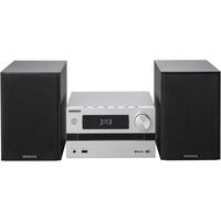 Kenwood M-720DAB Heim-Audiosystem für Heim-Audio, schwarz, silber