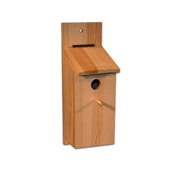 BigDean Nistkasten Sebstbauset Vogelhaus Vogelhäuschen Nisthaus Meisenhaus Kleinvögel Meisenkasten Bausatz