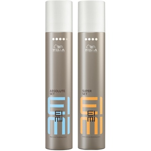 WELLA EIMI Sparset ABSOLUTE SET Haarspray 500ml + SUPER SET Haarspray 500ml