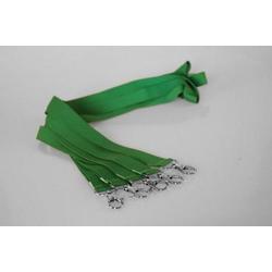 5 Umhängebänder | SET | grün | 20 mm