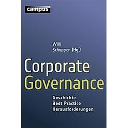 Corporate Governance. Willi Schoppen  - Buch
