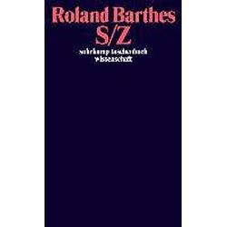 S/Z. Roland Barthes  - Buch