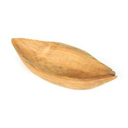 ROG-Gardenline Dekoschale BOOT, TEAK-HOLZ 40 CM 40 cm x 8 cm x 15.5 cm