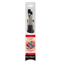 DaVinci Pinsel Top-Acryl 4er Pinselset