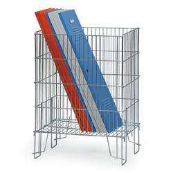 Verkaufskorb mit füßen 360 x 550 x 780 mm