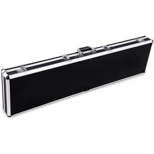 COSTWAY Koffer Waffenkoffer Pistolenkoffer, Aluminiumlegierung abschließbar schwarz
