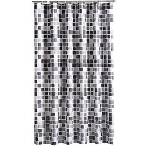Rosa Schleife Duschvorhang 200x200 cm (BxH), Anti-Schimmel Anti-Bakteriell Wasserabweisender Duschvorhangs Shower Curtains Liner weichem Polyestergewebe Bath Curtains Vorhang für Badezimmer WC