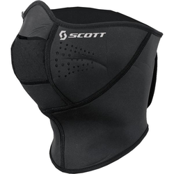 Scott Face Heater Gesichtsmaske, schwarz, Größe S