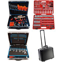 FAMEX Werkzeugset 604-20, (Set, 302-St), im Werkzeugkoffer
