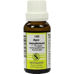 APOMORPHINUM F Komplex Nr.185 Dilution 20 ml