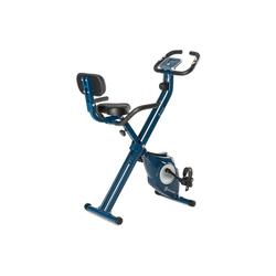 Capital Sports Fahrradtrainer Azura M3 Heimtrainer bis 100 kg Pulsmesser klappbar 3 kg blau