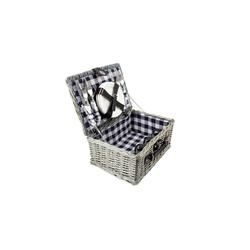 Neuetischkultur Picknickkorb Picknickkorb für 4 Personen (21 Stück), Picknickkorb