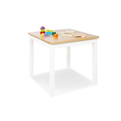 Pinolino Kindertisch Fenna, weiß/natur