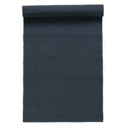 Linum Baumwolle Uni Tischläufer Einfarbig Marine 45x150 cm