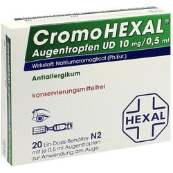 CROMOHEXAL UD EDP 0,5 ml Augentropfen 20 St