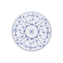 Kahla Speiseteller Speiseteller Blau Saks, (1 Stück) Ø 26 cm