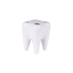 HTI-Living Zahnputzbecher Zahnbürstenhalter für 4 Bürsten, Zahnbürstenhalter