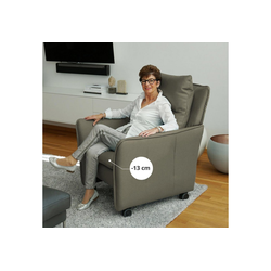 PLACE TO BE. Relaxsessel, Relaxsessel Insideout Wheels small - 13 cm schmaler grün