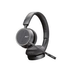 Poly Voyager 4220 Office - Für Microsoft Teams - Zwei-Wege-Basis - Office Series - Headset - On-Ear