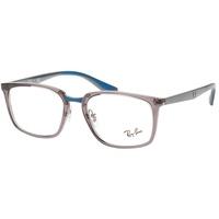 Ray Ban Ray-Ban Herren 0RX7148 Brillengestelle, Grau (Transparente Grey), 54