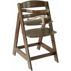 roba® Hochstuhl Treppenhochstuhl Sit up III, braun aus Holz