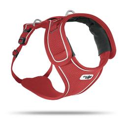Curli Hunde-Geschirr Belka Geschirr, Polyester rot M - 52 cm - 73 cm