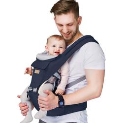 Arkmiido Bauchtrage Rückentrage 3 in 1 (Ergonomische Kindertrage Bauchtrage), Bauchtrage Baby
