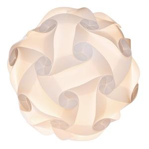 EAZY CASE Puzzle Lampe 30-Teilig, DIY Lampe I Lampenschirm in über 15 Designs, als Deckenlampe oder Stehlampe geeignet, Größe S