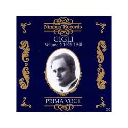 Gigli Benjamino, Benjamino/various - Vol.2 1925-1940 (CD)