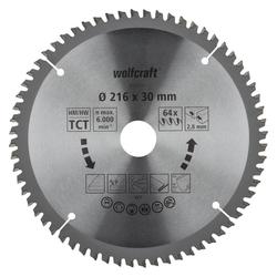 HM-Sägeblatt 216 x 30 x 2,8 mm