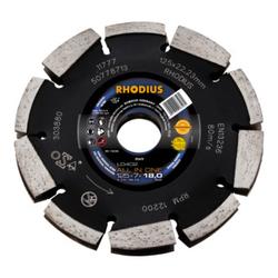 RHODIUS LD402 ALL IN ONE Diamantfräse 125 x 7,0 x 18,0 x 22,23 mm