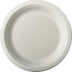 PAPSTAR Teller 84582 18 cm Weiß 50 Stück