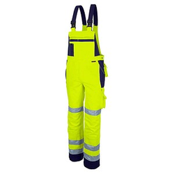 QUALITEX® unisex Warnschutzhose   gelb Größe 64