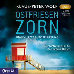 Ostfriesenzorn als Hörbuch CD von Klaus-Peter Wolf