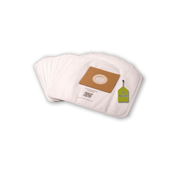 eVendix Staubsaugerbeutel Staubsaugerbeutel ähnlich AmazonBasics 15C, 10 Staubbeutel + 1 Mikro-Filter, passend für AmazonBasics