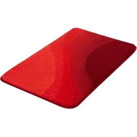 Kleine Wolke Kleine Wolke, Höhe 20 mm, rutschhemmend beschichtet, fußbodenheizungsgeeignet rot rechteckig - 70 cm